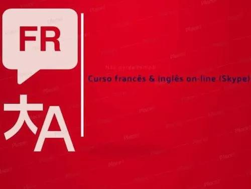 Aulas particulares francês e inglês (via skype)