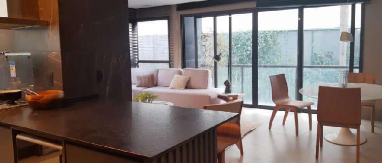 Belíssimo apartamento mobiliado no bairro Bela Vista