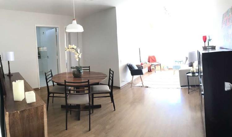 Brooklin apartamento com 90 m2 a 10 minutos do metro
