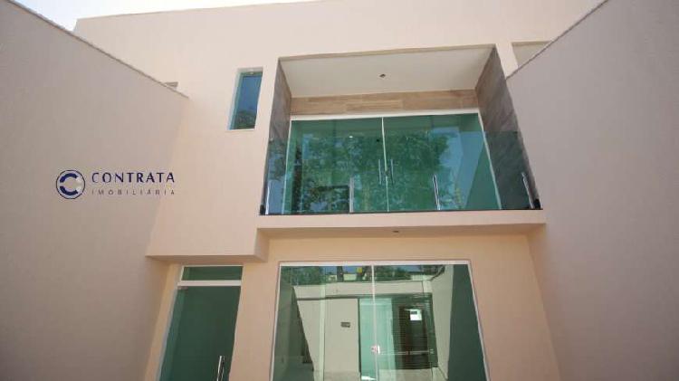 Casa geminada nova - bh - b. santa amélia - 3 qts - 2 vagas