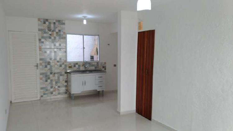 Casa de condomínio para venda tem 55 metros quadrados com 2
