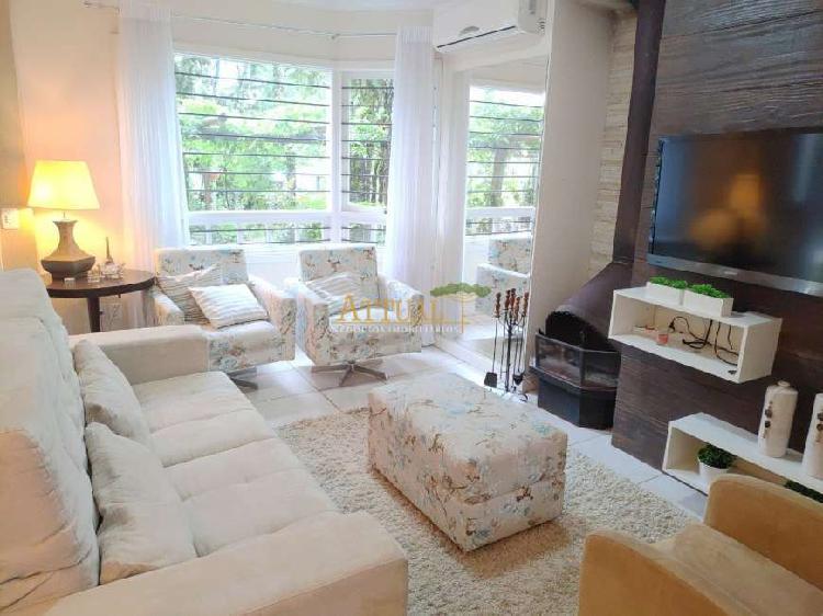 Casa mobiliada para venda em canela-rs em bairro nobre