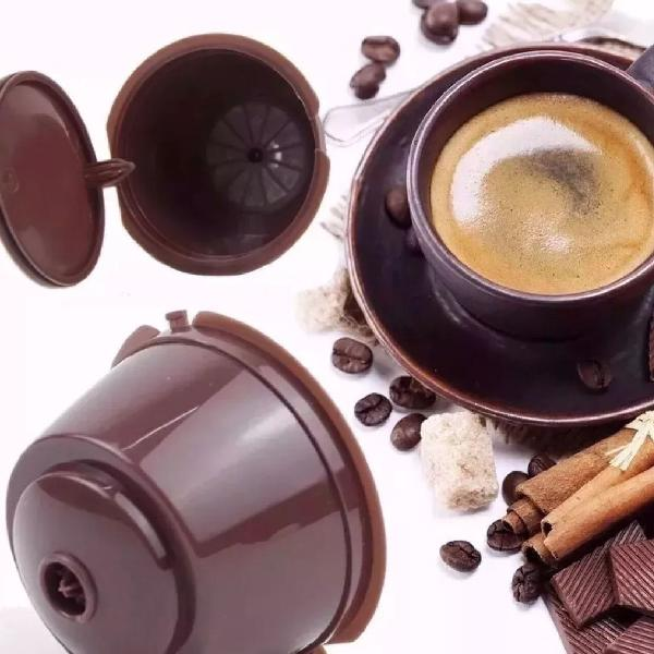 Cápsulas reutilizável dolce gusto recarregável