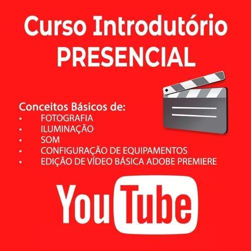 Curso introdutório para youtube