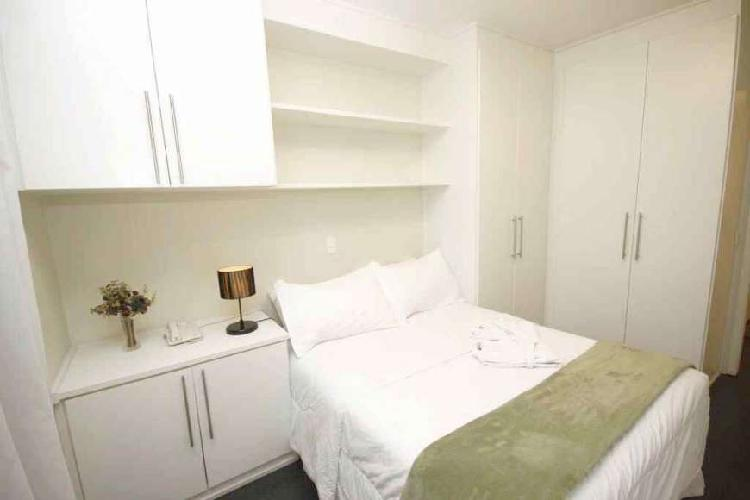 Flat prox paulista london r$ 360.000 - 1 dorm - 42m² -
