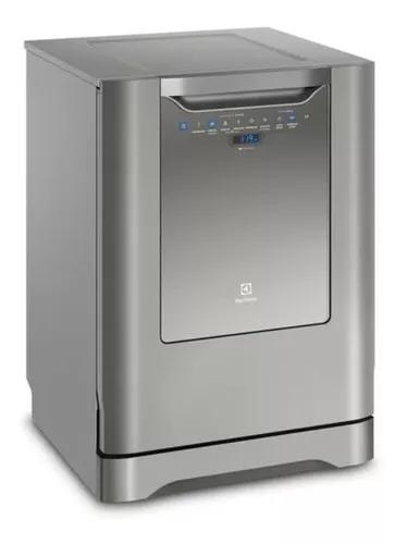 Lava-louça electrolux inox 14 (lv14x) qualidade e economia