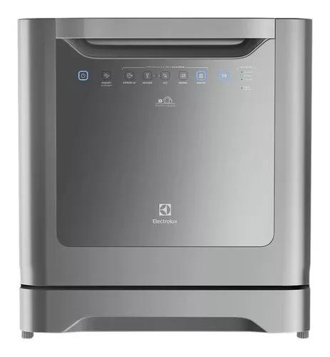 Lava-louças electrolux 8 serviços cinza (le08s)