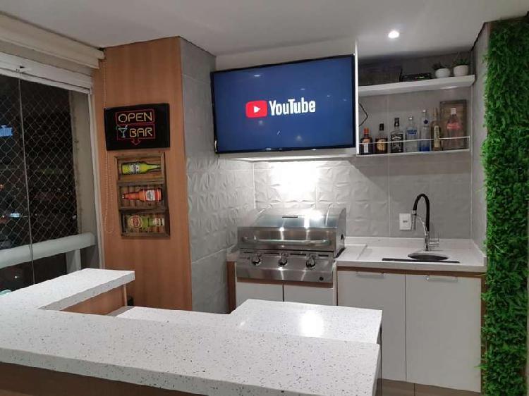 Maravilhoso apto na vila carrão - 105 m² - 3 suítes - 2