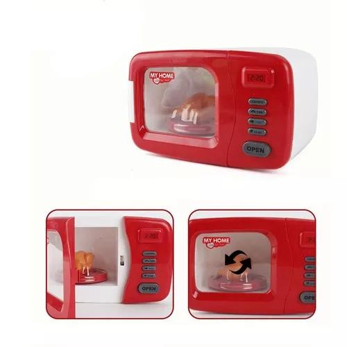 Plástico pequeno casa eletrodomésticos brinquedo