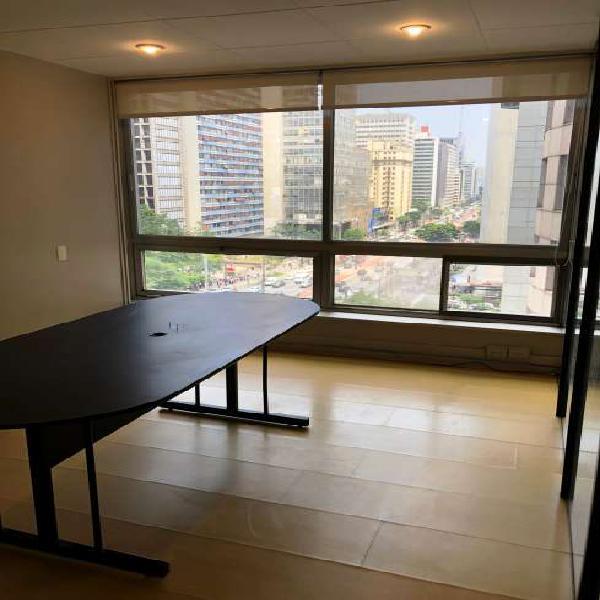 Sala/conjunto para alugar com 46 metros quadrados na av