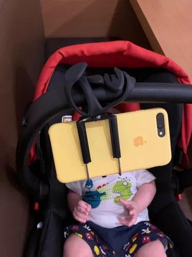 Suporte de celular para bebe conforto crianca ver video tv