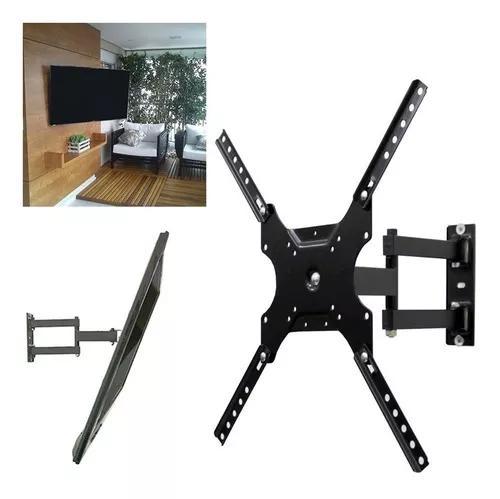 Suporte tv monitor articulado 14 a 55 polegadas 50kg lcd led
