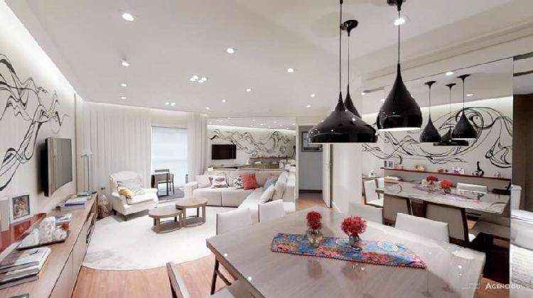 Varanda gourmet neste lindo e moderno 3 dormitórios (1