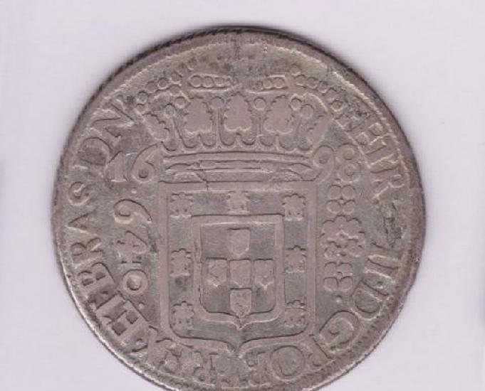 Vende-se 1 quilo de moedas antigas de prata pura 1698 a 1910