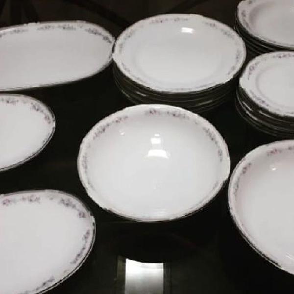 Aparelho de jantar de porcelana schmidt classic