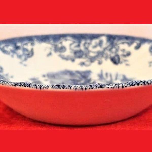 Conjunto de 7 tigelas de porcelana de 13 cm coaching scenes