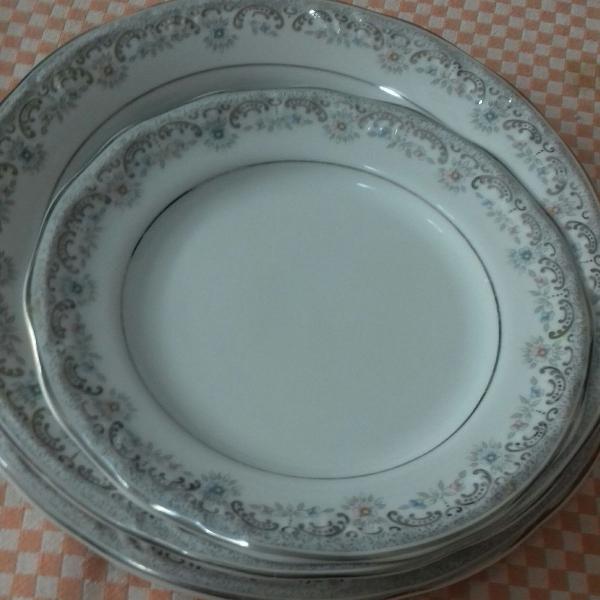 Conjunto individual porcelana schmidt