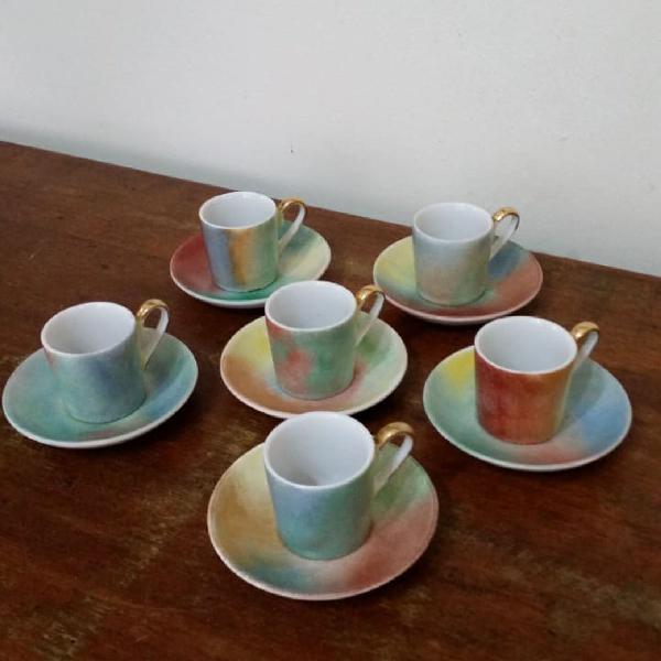Conjunto mini xícaras de café