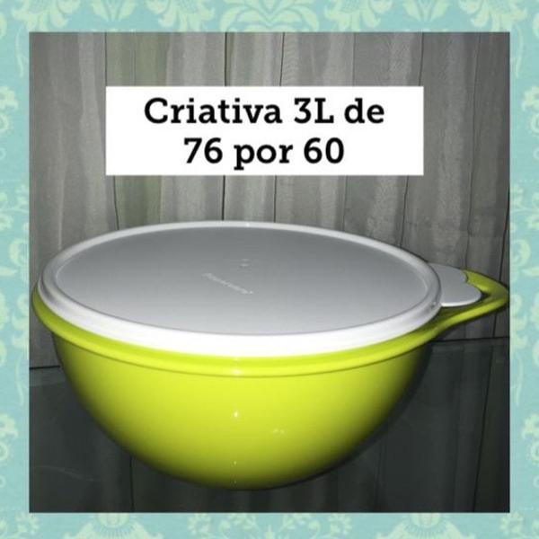 Criativa tupperware 3l