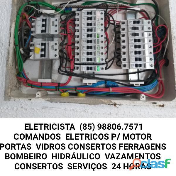 Eletricista fortaleza 24hs (85) 98806 7571