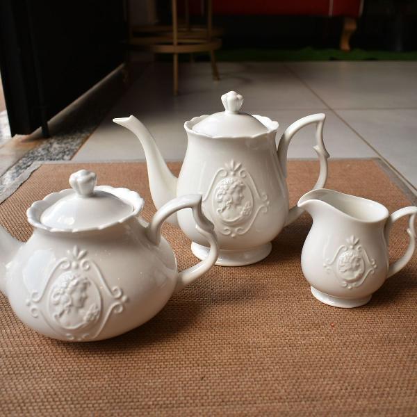 Jogo para chá porcelana lyor (148)