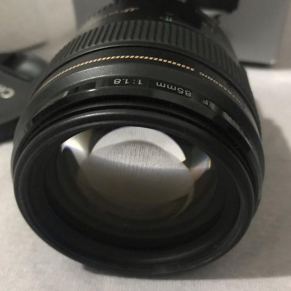 Lente canon 85mm f/1.8