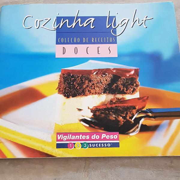 Livro cozinha light doces