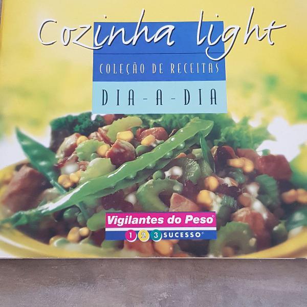 Livro cozinha light receitas dia-a-dia