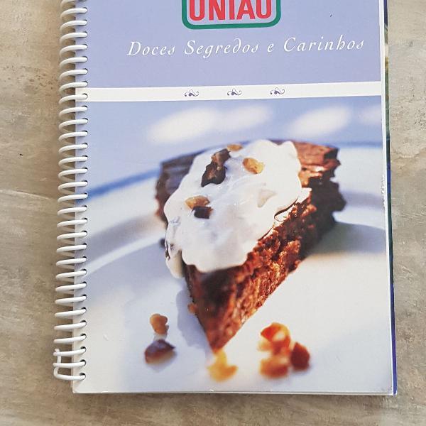 Livro receitas união doces segredos e carinhos