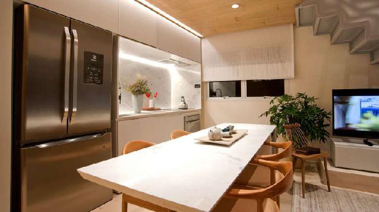 Apartamento loft dupex à venda no jardins 81m2 1 quarto com