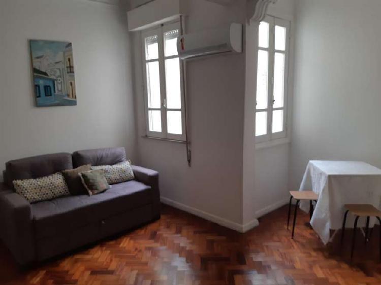 Apartamento quarto e sala em copacabana, com ou sem