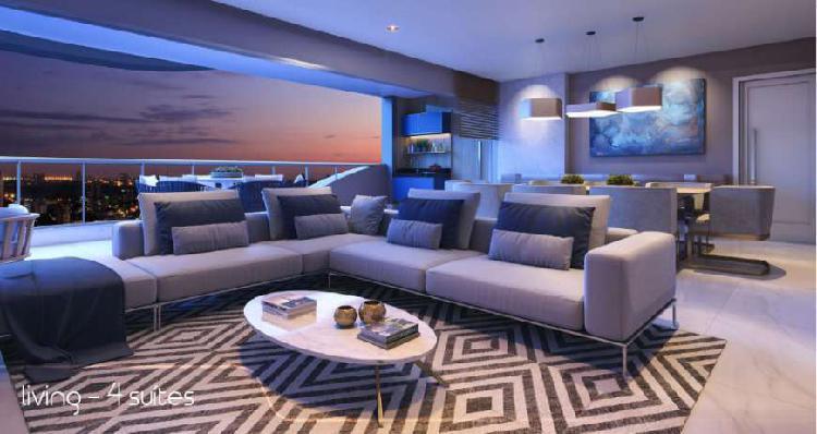 Apartamento para venda possui 226 metros quadrados com 4