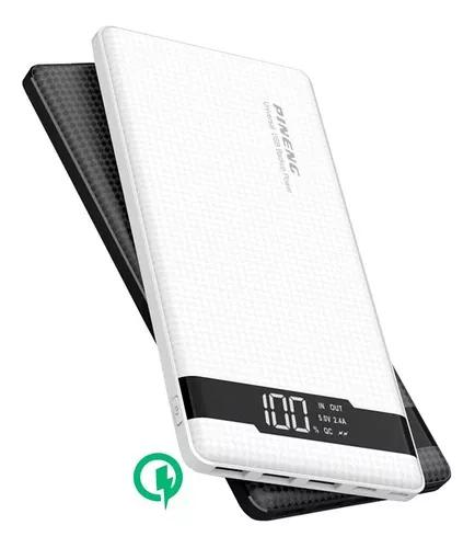 Bateria power bank pineng slim 20000mah original lançamento