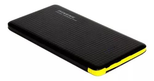 Carregador portátil power bank 10.000mah universal