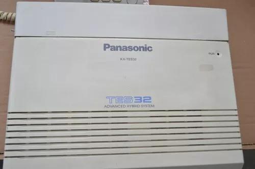 Central telefônica pabx panasonic kx-tes32 usada