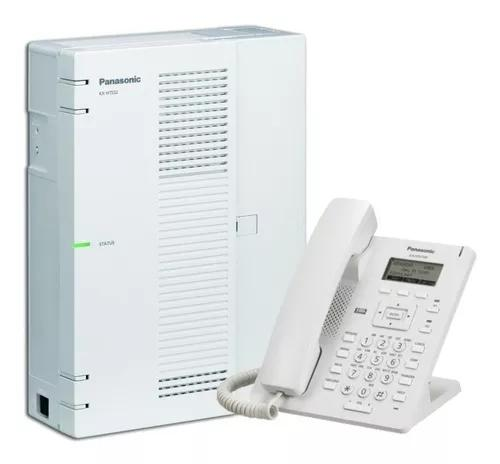 Central telefonica panasonic kx-hts32 8 linhas 24 ramais +ks