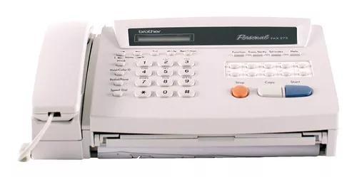 Fax térmico brother 275 com cortador automático de papel