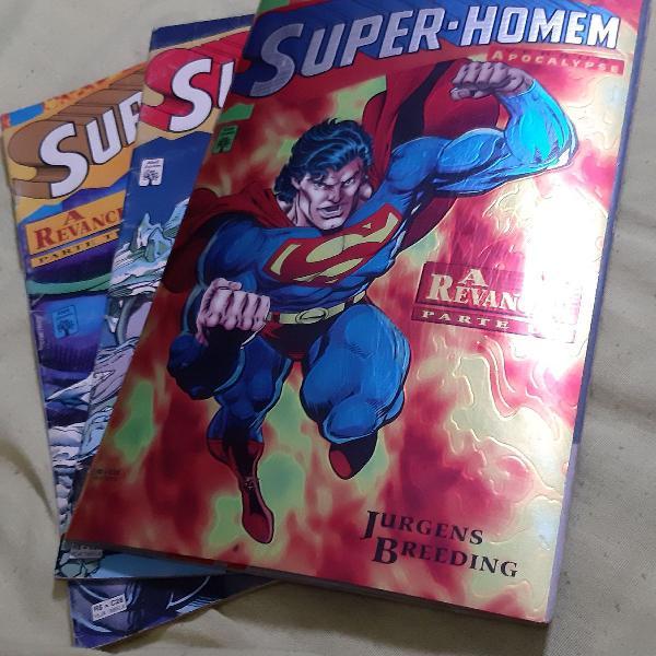 Gibi - coleção super homem x apocalypse - a revanche