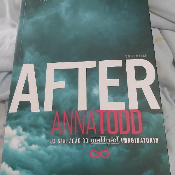 Livro after autografado