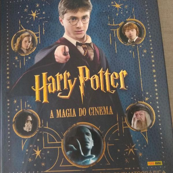Livro a magia do cinema de harry potter