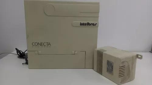 Micro pabx intelbras modulare usada - 2 linhas 8 ramais