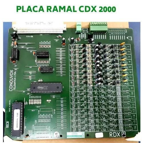 Placa de ramal conduvox rdx 08 cdx 2000