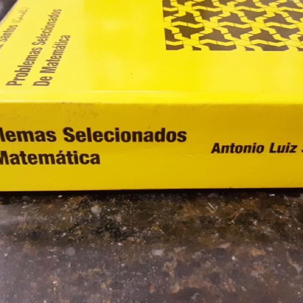 Problemas selecionados de matemática.