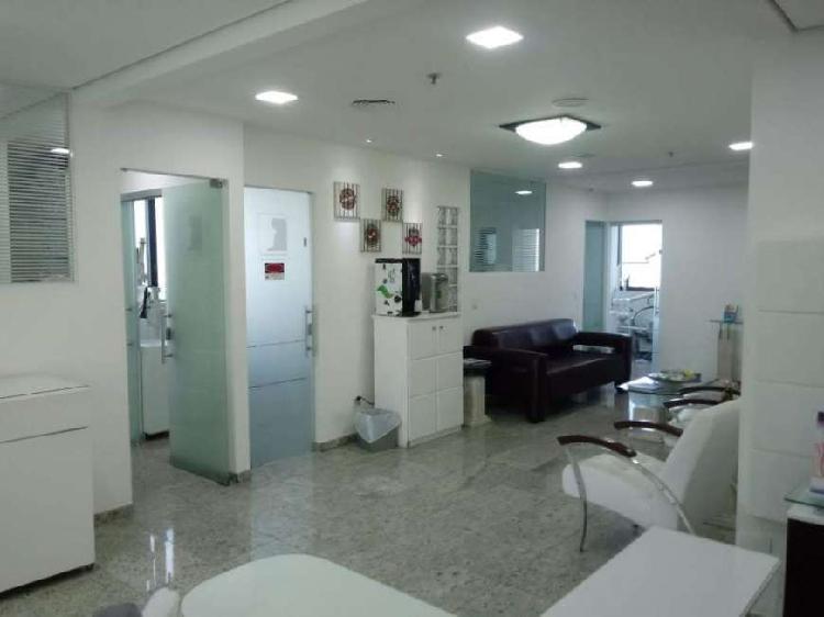 Sala/conjunto para aluguel e venda com 120 metros quadrados