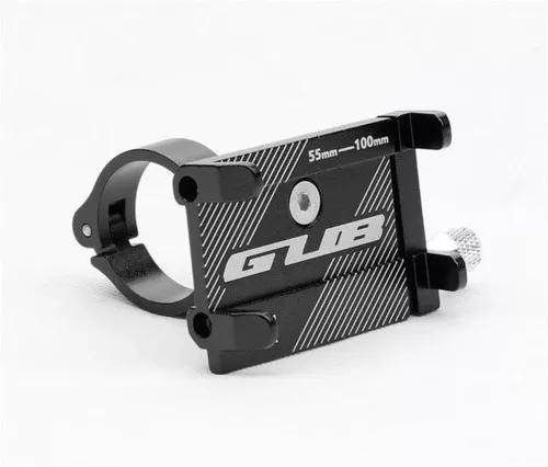 Suporte celular alumínio p/ moto bike bicicleta gub