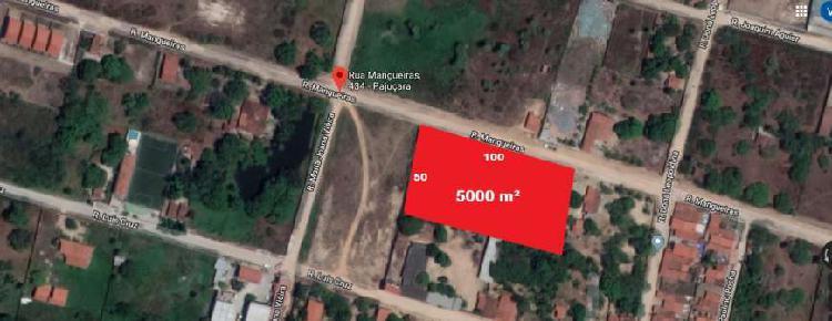 Terren0 para venda tem 5000 m² bairro pajuçara -