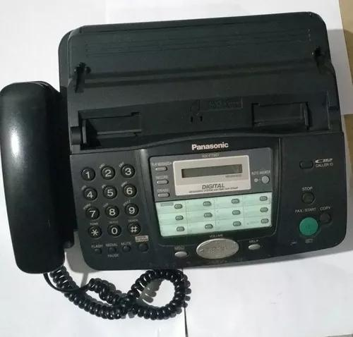 Telefone, fax, secretaria panasonic mod kx ft907la