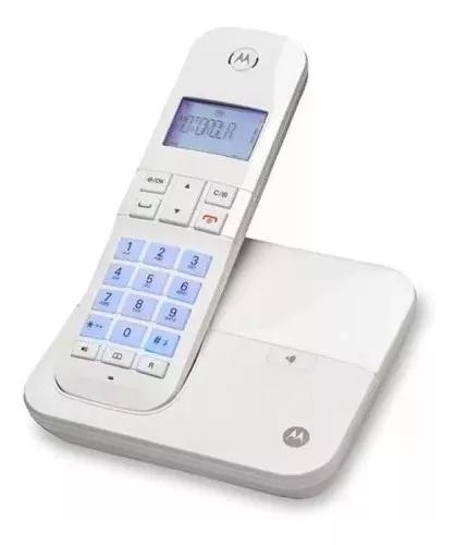 Telefone s/fio motorola m4000-w com viva-voz e visor ilumin.