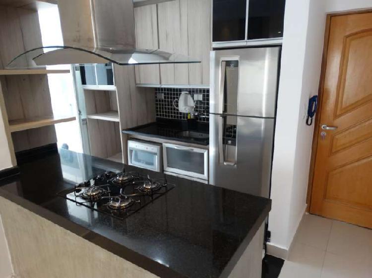 Apartamento 70m² c/ 2 dorm c/suite pronto ,mobiliado lazer