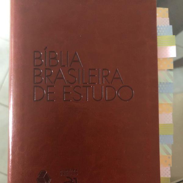 Bíblia brasileira de estudo hagnos